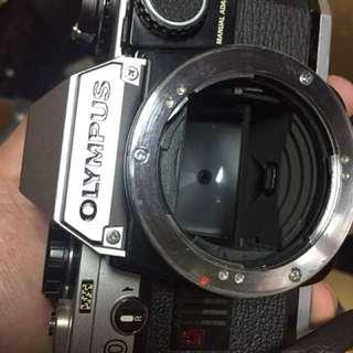 底片 單眼相機 Olympus om10 快門調解器