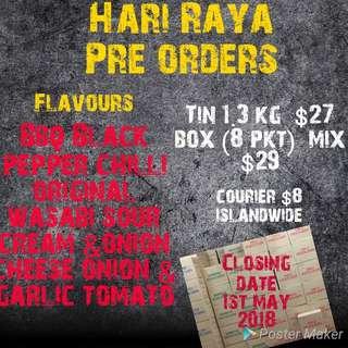 HARI RAYA POTATO CHIPS