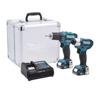 Makita 12V Cordless Combo Kit (CLX201SAX1)