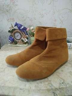 Preloved ankle boots, belum pernah dipakai