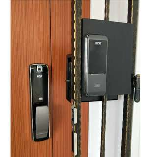 EPIC Push Pull Digital Door Lock and EPIC Triplex 2way for hdb door and gate