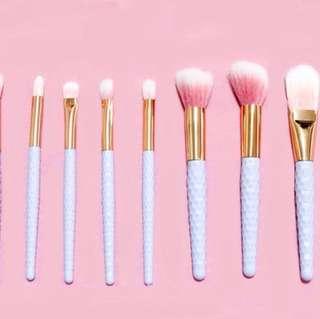8 pc Mini Make Up brush set