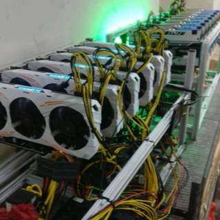 Mining rig 6 x 1080ti