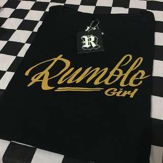 Tshirt Tees Kaos Rumble Girl