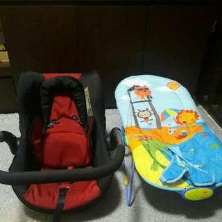 Car seat & bouncher