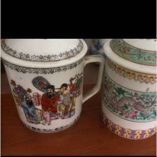 Tea Cups traditional