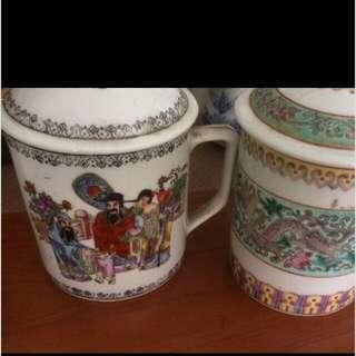 Tea Cups traditional