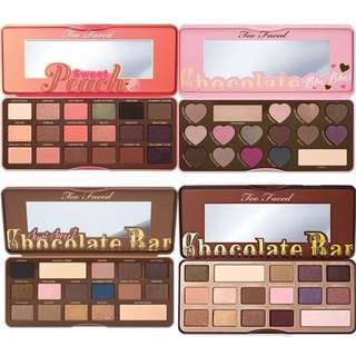 [PO] Too Faced Palettes