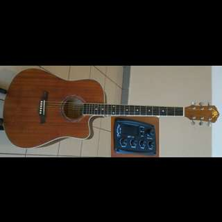 A&K Acoustic Electric Guitar 41Inch #330CE