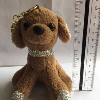 Bag charm or key chain - puppy