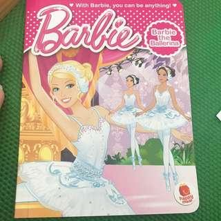 Barbie storybook for kids