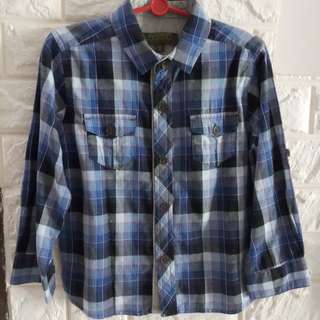 Authentic Ted baker checkered shirt