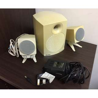 Boston powered speaker system