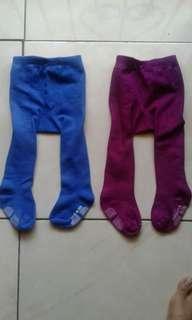 Legging bayi Cotton rich. size 3-12bln.