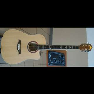 A&K Acoustic Electric Guitar 41Inch #320CE