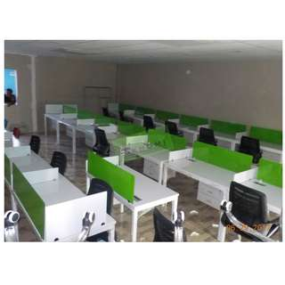 Linear Workstation - office furniture - partition