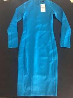 New blue fxjc dress