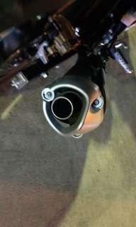 Sniper 150 pipe