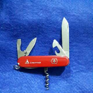 Swiss Army Knife camping set
