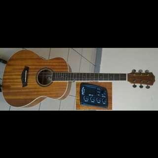 Mentreel Acoustic Electric Guitar 36Inch M1E