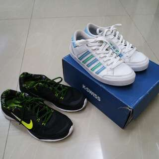 2 FOR 2000 NIKE SHOES AND K-SWISS