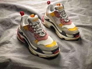 Balenciaga triple s運動鞋做舊版本9色看另一商品post