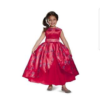 DISNEY Elena Ball Gown Deluxe Elena Of Avalor Disney Costume, Medium/7-8