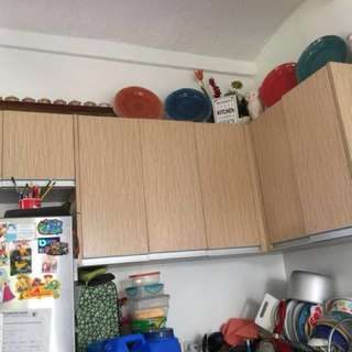 Modular kitchen cabinet (available anytime)