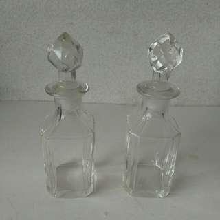 中古玻璃香氛瓶 @$30