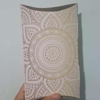 Mandala Style Pillow Box