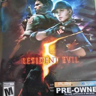 Xbox one resdient evil 5