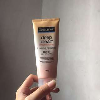 Authentic Neutrogena Foaming Facial Cleanser