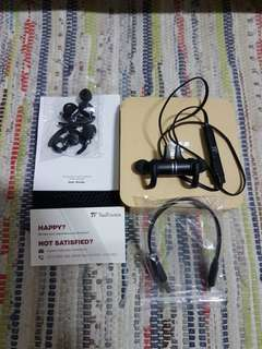 TAOTRONICS magnetic wireless stereo earphone model tt-bh07