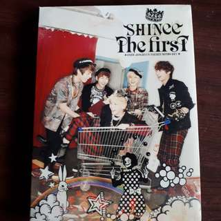 SHINee 1st Japanese album The First (limited edition)