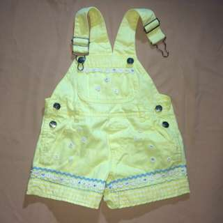 Baby Overall Yellow