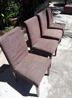 Beautiful Brown Dining Chairs