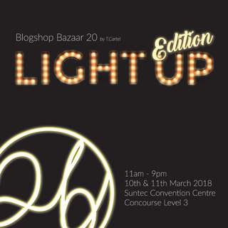 EVENT | Blogshop Bazaar 20 | Light-Up Edition            {Canvas Tote Bag, Drawstring Bag, Pouch, Badges, Iron-on patch}