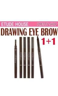 Etude house eyebrow (5 for $16)