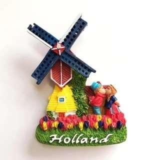 Fridge Magnet - Holland Windmills