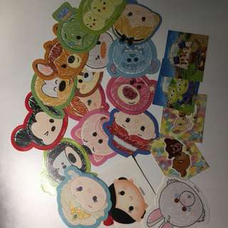 Disney Tsum Tsum Sticker 25 pcs