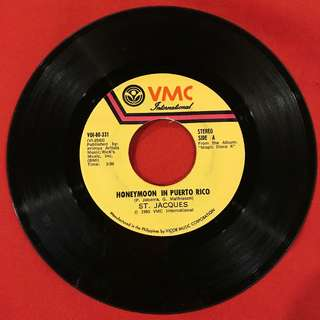 Don't Cry For Me Argentina/Honeymoon in Puerto Rico 45 rpm vintage