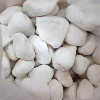 Bag of Loose Limestones for Decoration