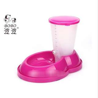 Automatic Pet Food dispenser (Pink)