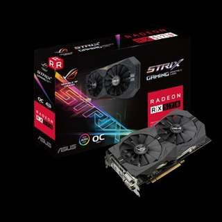 Asus RX570 4GB  ready in stock x 8pcs ( bulk price)
