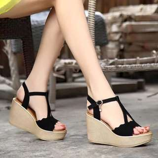 MAR 18 WEDGE SANDALS (NW)