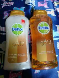 Dettol Body Wash Gold