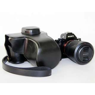 PU Leather Camera Case for Sony A7 A7R