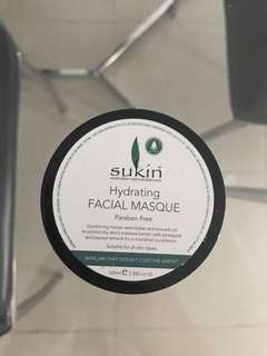 Sukin hydrating face mask