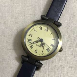 深啡復古手錶 Dark Brown Vintage Watch