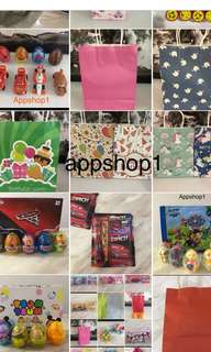 Party goodie bag item with appshop1